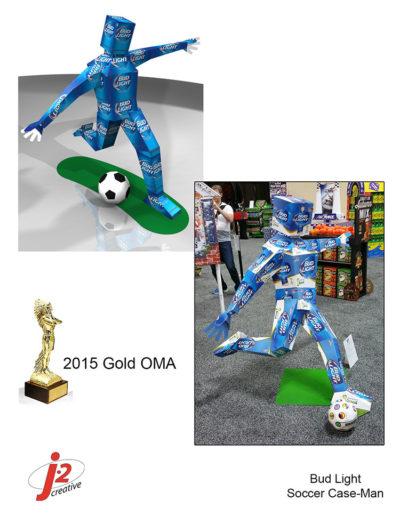 BudLight 2015 Gold OMA