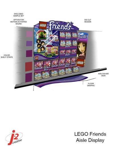 LEGO Friends Aisle A