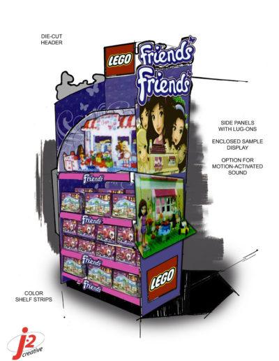 LEGO Friends Endcap B