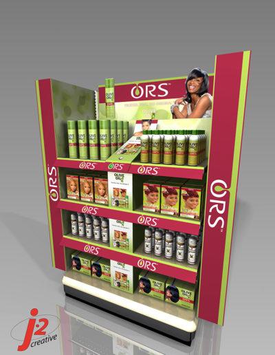 ORS Walgreens Endcap