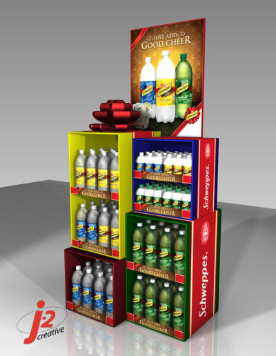 Schweppes Holiday Staggered Gifts